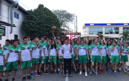 2.600 deportistas juveniles participan en la fase departamental de los Juegos Supérate Intercolegiados en Tauramena