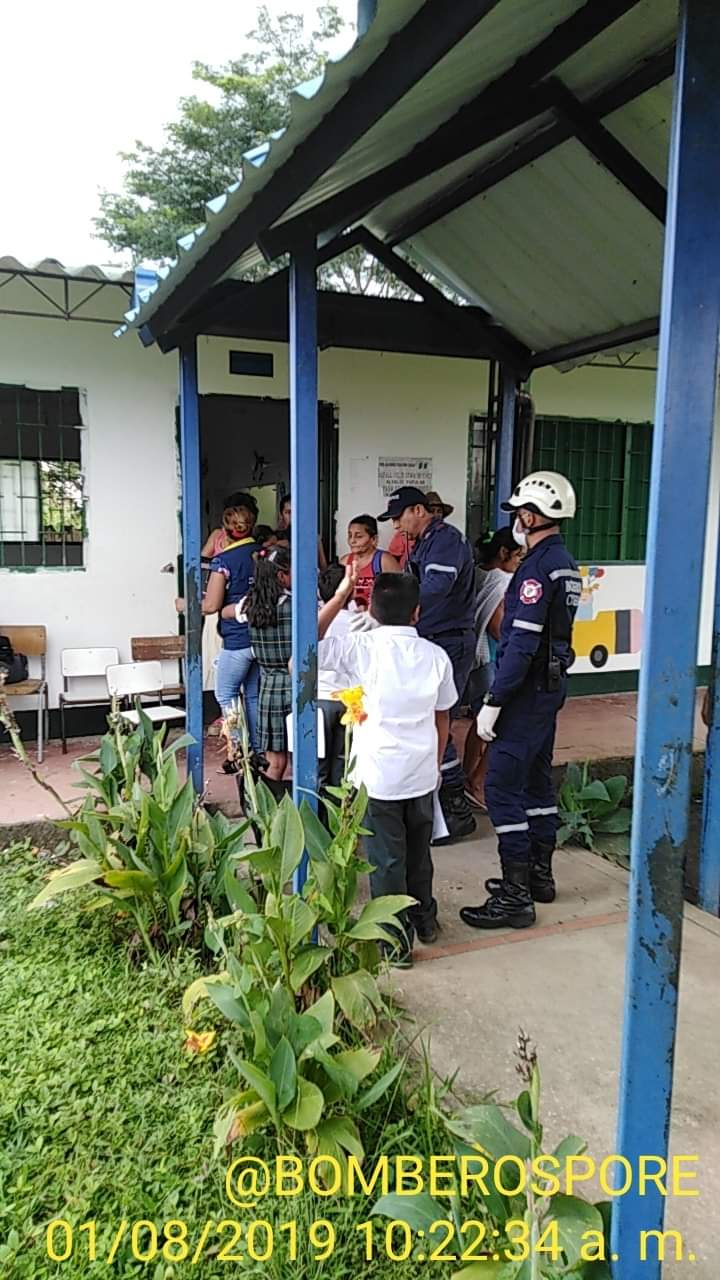 Photo of Diez niños de una vereda de Nunchía fueron atendidos por posible intoxicación causada por plaguicida