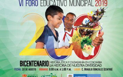 VI Foro Educativo de Yopal 'El Bicentenario', tiene gran connotación histórica para Casanare: Secretaria de Educación