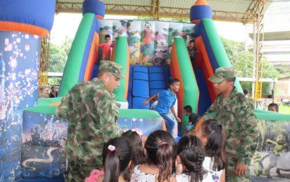 Ejército Nacional realizó brigada en Punto Nuevo