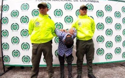 En Yopal, ladrón terminó en cárcel
