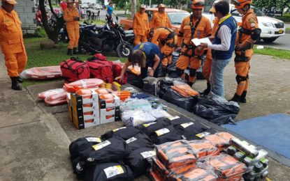 Organismos de Socorro en Casanare reciben dotación