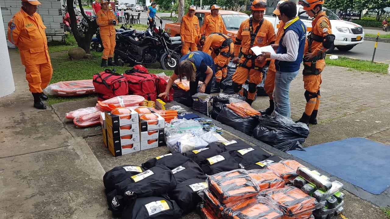 Photo of Organismos de Socorro en Casanare reciben dotación