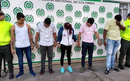En Yopal, cayeron 'Los delfines', banda dedicada al tráfico de estupefacientes
