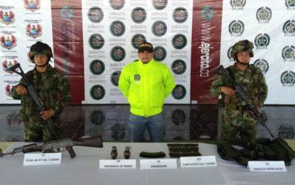 Balance en operaciones de la Décimo Sexta Brigada del Ejército Nacional