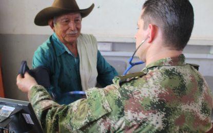 En Pore, Ejército realizó jornada de apoyo