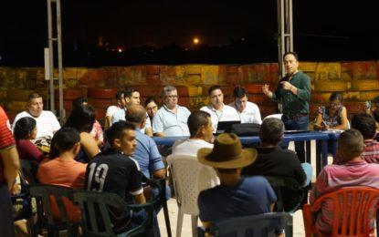 En la Niata, evaluaron temas de infraestructura y altantarillado