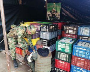 Ejército Nacional logra contundente golpe al contrabando, en Arauca