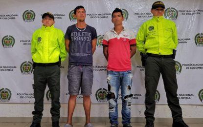 En Vichada, fueron capturados 'Los Bataclanes', banda dedicada al hurto