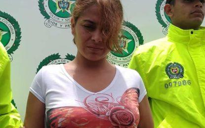 Mujer con prontuario delictivo terminó en la cárcel la Guafilla