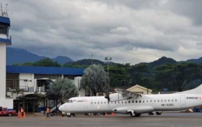 Cierre de vía Villavicencio – Bogotá, incrementó vuelos hacia la capital del Meta: Aerocivil