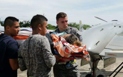 Joven que sufrió grave accidente de tránsito fue traslada en avión a Bogotá