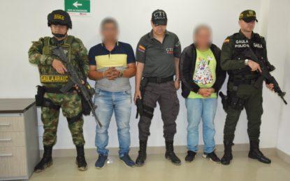 Extorsionista y cabecilla de milicias del GAO  residual fueron capturados en Arauca por el Ejército  Nacional