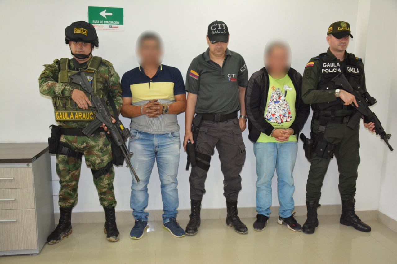 Photo of Extorsionista y cabecilla de milicias del GAO  residual fueron capturados en Arauca por el Ejército  Nacional