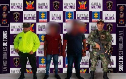 En Arauca, Capturado presunto sicario del Eln que extorsionaba en Casanare