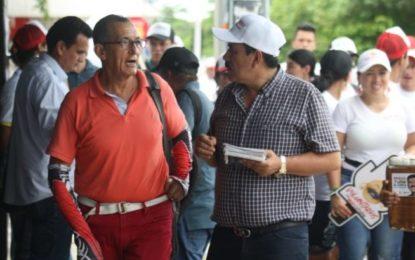 Marco Tulio Ruiz recorrió el comercio de Yopal