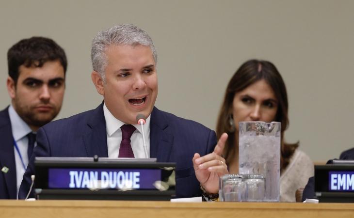 Photo of En la ONU, Duque busca una gran coalición para proteger los bosques