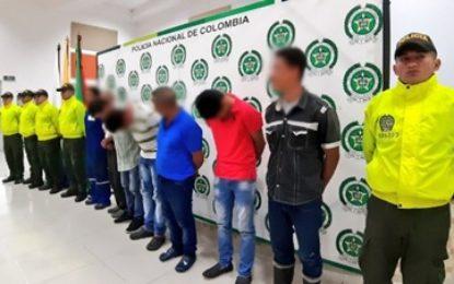 Mediante orden judicial fueron capturados siete agresores sexuales en Casanare