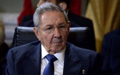 Por violar los derechos humanos, EU sanciona a Raúl Castro