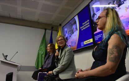 Queremos reducir la desigualdad de género en Colombia: UE