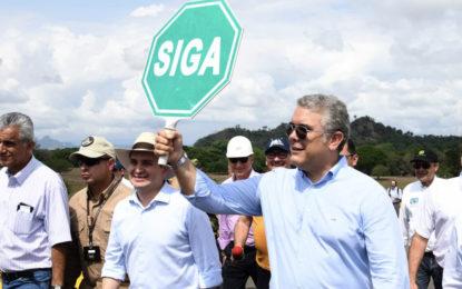Gobierno hizo entrega de la variante La Dorada-Puerto Salgar