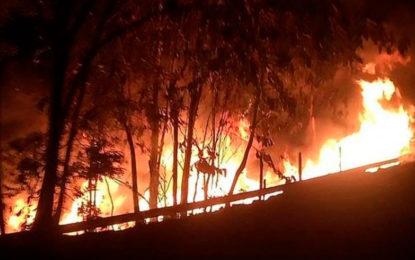 Otro atentado contra oleoducto, esta vez en Putumayo