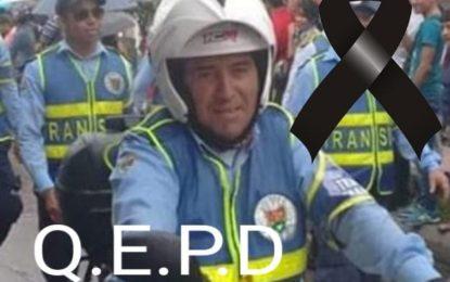 Falleció Agente de tránsito de Yopal