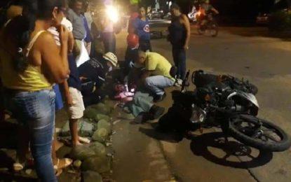 Fatal accidente de tránsito en Villanueva, dejó una persona muerta