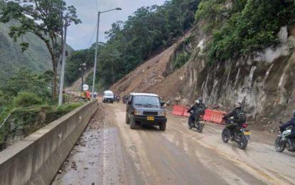 Nueva apertura de la vía al llano durante puente festivo