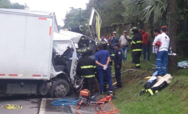 Fuerte accidente de tránsito en la vía Yopal – Aguazul