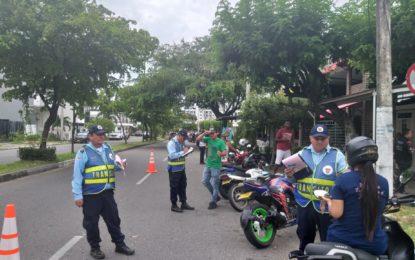 Disminuyeron los accidentes graves durante el primer mes de la restricción de motos en Yopal