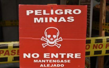 En este año van 289 víctimas de minas antipersona