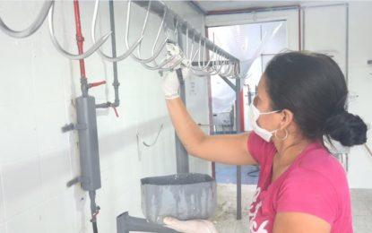 Administración Municipal realiza mantenimiento a Planta de Beneficio Animal