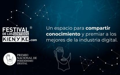 Expertos en ecosistema digital en Festival de los Sentidos