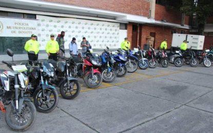 Cae banda que robaba motos en sólo 47 segundos en Boyacá y Casanare