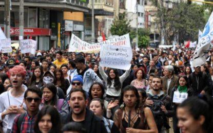 Advierten a organizadores de movilizaciones pacíficas, que deben notificar sus actividades