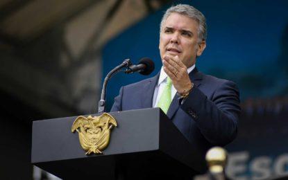 Duque anuncia presentación de política de seguridad ciudadana para contrarrestar la delincuencia y el microtráfico