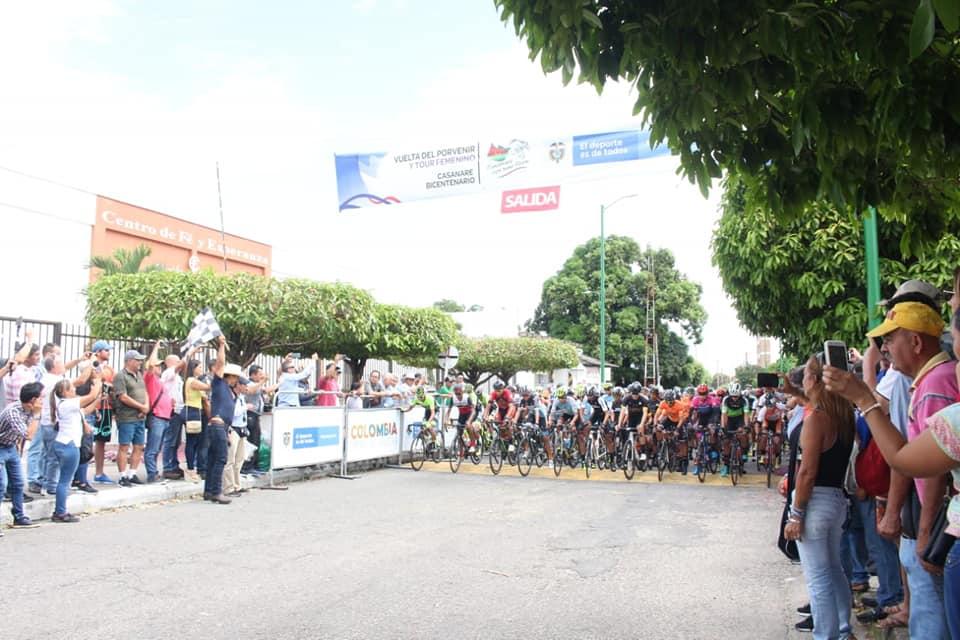 Photo of Se dio inicio a la versión 35 de la Vuelta Del Porvenir; 15 Tour Femenino Casanare Bicentenario 2019