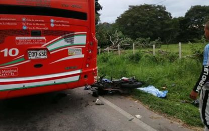 105 personas han muerto por accidente de tránsito en Casanare