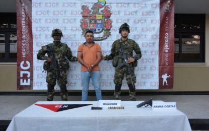 En Arauca, cayó presunto terroristas del ELN