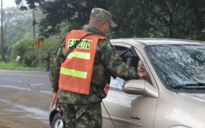 Ejército Nacional garantizó seguridad en las vías de Casanare y Boyacá