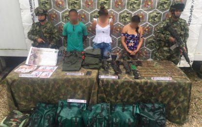 Ejército Nacional salvó la vida de un guerrillero herido y capturó a cinco integrantes del Eln, en Arauca
