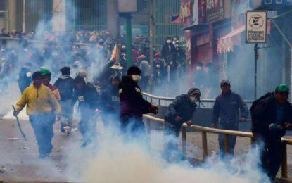 Aumenta a 10 el número de muertos en los disturbios en Bolivia