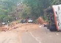 Una roca cayó sobre bus en el Tolima y una persona murió
