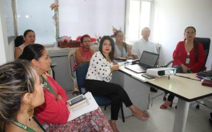 Con participación de vocero de los usuarios se realizó el comité de gestión del riesgo en Salud