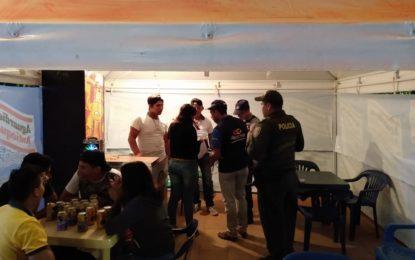 806 unidades entre licores, cervezas y cigarrillos, se han incautado durante el Plan Navidad en Casanare