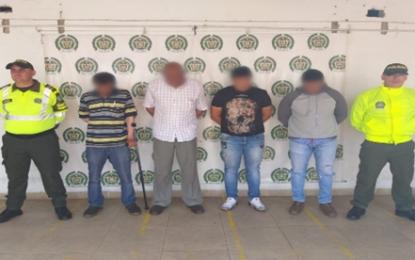 """Capturados cuatro integrantes de la banda """"los falsificadores"""""""