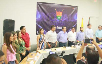 Luis Eduardo Castro presentó su gabinete de gobierno