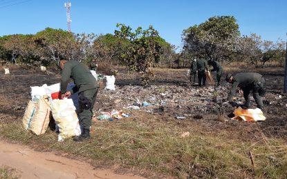 Dos toneladas de vidrio fueron recolectadas en Vichada