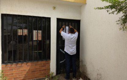 Invasión a viviendas de interés social en el proyecto Villa David